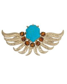 Sasha Feather Double Ring in Boardwalk