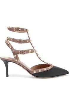 e71a8699d5e5 Valentino - Valentino Garavani The Rockstud leather pumps