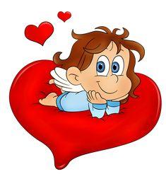 Валентина милый ангел PNG изображения Clipart