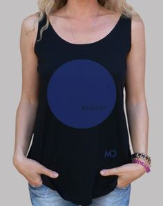 #Blue #Monday #loosefit #women #tanktop #80s #bluemonday #electronic #music #neworders #monday