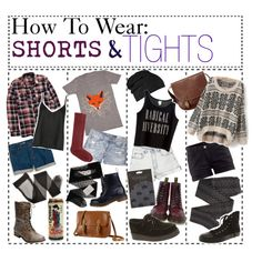 shorts, top stocking and knee high boots - Google Search