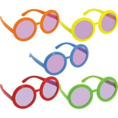 Feeling Groovy Tinted Glasses 10ct - Party City