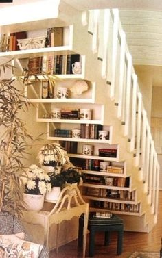stairs + shelf