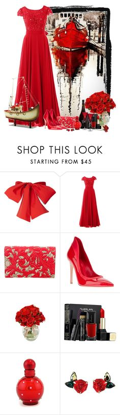 """De barco"" by sil-engler ❤ liked on Polyvore featuring Gucci, Gianvito Rossi, Guerlain and Britney Spears"