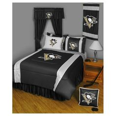 Sports Coverage Pittsburgh Penguins Bedding Series Pittsburgh Penguins Bedding Series