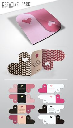 carte coeur / heart card