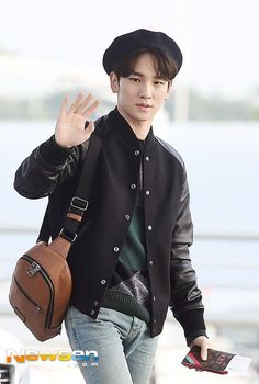 #Key heads to the airport to go to California