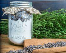 Lavender Bentonite Clay Face Mask in a Jar