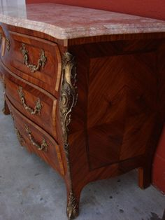 French Antique Louis XV Commode  (eBay)