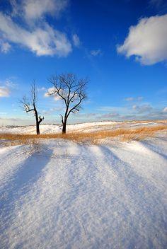 Winter in Northwest Indiana.