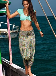 Don't leave your important decisions to chance. Decide for yourself and get these stylish beach pants today! Look beautiful with Saha Swimwear.   - Price $176
