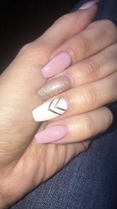 Classy Acrylic Nails, Matte Pink Nails, Subtle Nails, Pink Acrylic Nails, Acrylic Nail Designs, Cow Nails, Nails Now, Stylish Nails, Trendy Nails