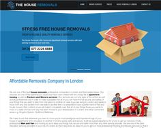 The House Removal Croydon Time Website, House Removals, Croydon, Home Free, Stress Free, How To Remove