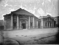 St. Thomas's (CoI), Cathal Brugha Street, Dublin 1 (1762 - 1922). The building was damaged following the civil war and a fire on O'Connell Street but was ultimately demolished for road widening purposes