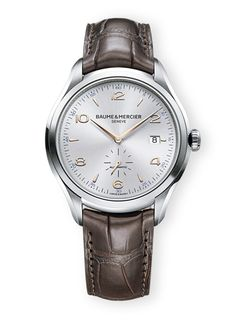 Baume & Mercier Clifton watch, $2,700
