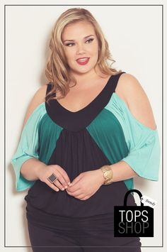 Stacy Cold Shoulder Top In Purple – Stylish Plus Australia PTY LTD - Plus Size Clothing Sizes 10 to 36