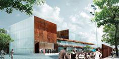 Theater and Experience Center in Hjørring, Denmark / Schmidt Hammer Lassen to design Vendsyssel