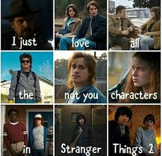 I feel bad for him cause of his dad being a JERK, but that doesn't give him an excuse for being one too i actually think in season 3 either billy will die, or he gets possessed by the mind flayer. Stranger Things Quote, Stranger Things Have Happened, Stranger Things Netflix, Stranger Things Season, Stranger Danger, Fandoms, Science Fiction, Film Serie, Cinema