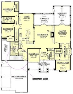 Plan 51746HZ: Craftsman House Plan with Rustic Exterior and Bonus Above the Garage