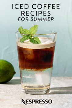 Cool down your morning routine with an iced coffee recipe from Nespresso. These refreshing drinks are the ultimate choice on a hot summer's day. Click here to explore indulgent recipes like Iced Cappuccino, Raspberry Chocolate Iced Coffee, Tiramisu Frappe, and more.