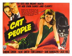 1940 Movie Posters   Cat People Ii - Vintage 1940s Movie Posters Wallpaper Image
