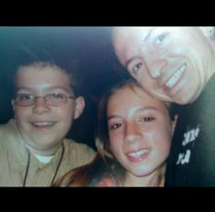 Chester with his son,Jaime and niece,Alyssa