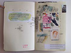 Élise Palardy sketchbooks