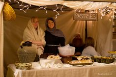 A Night in Bethlehem - Market tent ideas