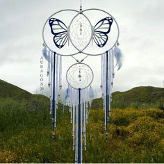 Good art reveals the world in a way that is fresh, facinsting, and complex ◇  Butterfly Expansion dream catcher ~ Available here ~ www.aurvgon.com