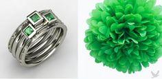 Wedding Rings + Wedding Color Inspiration!