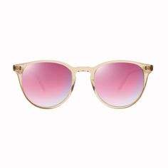 GLCO Milwood Pink Crystal with Magenta Layered Mirror Lenses
