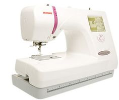 Janome 350E. I have this model it is fab!