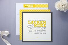 Minted #wedding #invitations #typography