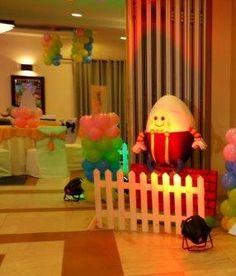 Humpty Dumpty Cut Out Divya Puri Nursery Rhyme First Birthday Party