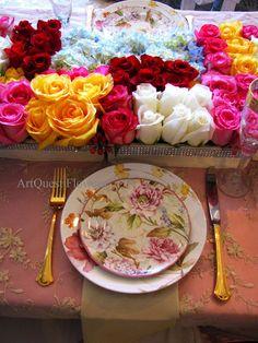 floral print china