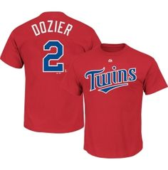 Majestic Youth Minnesota Twins Brain Dozier #2 Red T-Shirt - Dick's Sporting Goods