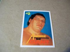1990 card / Andre the Giant #66
