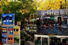 Place du Tertre, Montmartre by Fotopedia Editorial Team