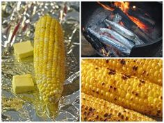 Campfire Corn on the Cob - another camping staple that we do every time we camp!