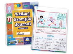 Writing Prompts Journal - Gr. 1-2 - Each
