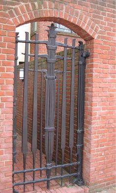 Gate (1979) Forged and fabricated mild steel.   lomgategrill2.jpg 482×800 pixels