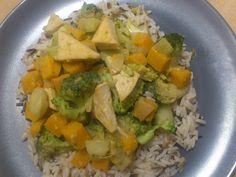 Veganes Kürbis-Brokkoli-Curry mit Tofu » Heute hatte ich nach der Arbeit - sicher auch weil mir tagsüber da ...