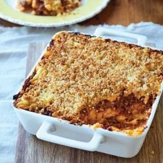 Mieliepap-'Lasagne'. West African Food, South African Recipes, One Pot Dishes, One Pot Meals, Main Meals, Side Dishes, Mince Recipes, Cooking Recipes, Grilling Recipes
