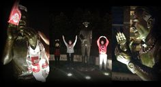 Well, well, well... interesting comments.  While 'Bama fans were sleeping, Ohio State fans were clowning on the Nick Saban and Bear Bryant statues in Tuscaloosa as they made their way to New Orleans.