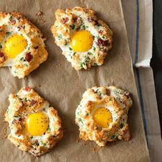 Eggs in Clouds.