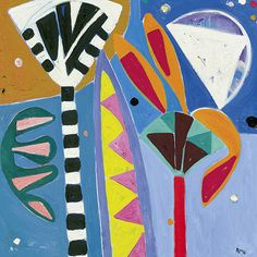 'Widsith' by Gillian Ayres (C014)