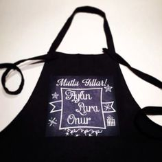 Customised Chalk Board Apron  Your own message / name by gojeko, $10.00