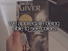 we appreciate being able to see colors.- so true! I love this book, though