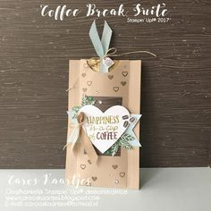 Caros Karten | Unabhängige Stampin 'Up! Demonstrator | www.carooskaartjes.blogspot.nl | carooskaartjes@hotmail.nl | Stampin 'Up! | Stampin 'Up! Verkauf | Kaffeepause Bundle | Kaffeepause Designerpapier | Kaffee Design Papier | Kaffee Café Stempel-Set | Kaffeetassen Framelits Stanzen | Kaffee Café stampset | Verpackungen | nicety | kleines Geschenk | Kaffee Verpackung | Handwerk | Kunsthandwerk | Kartenherstellung | Karten machen | Stanzen | Stanzen | kreativ | kreativ |