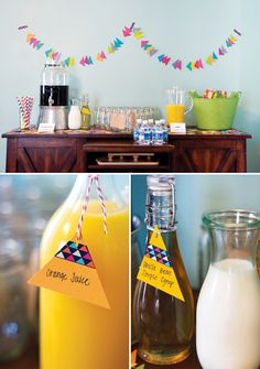 Geometric & Colorful 2nd Birthday Brunch